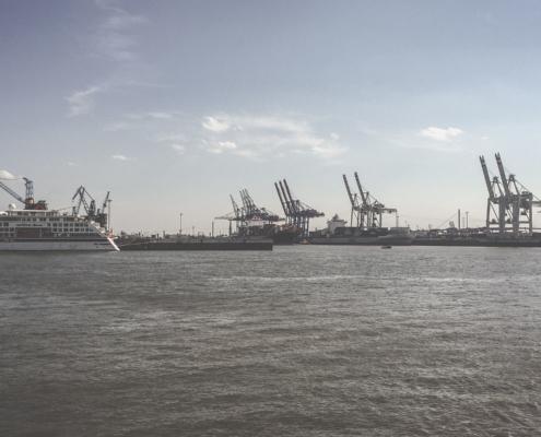 Hamburg Elbe Hafen